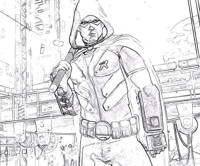 800x667 Batman Arkham City Robin Armor Yumiko Fujiwara