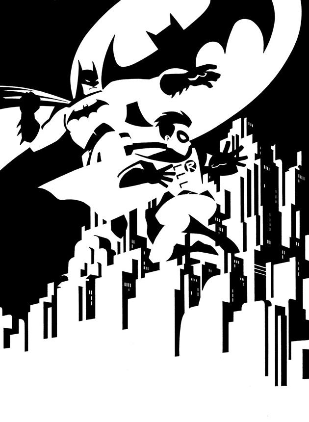630x860 Batman Amp Robin By Francis Portela