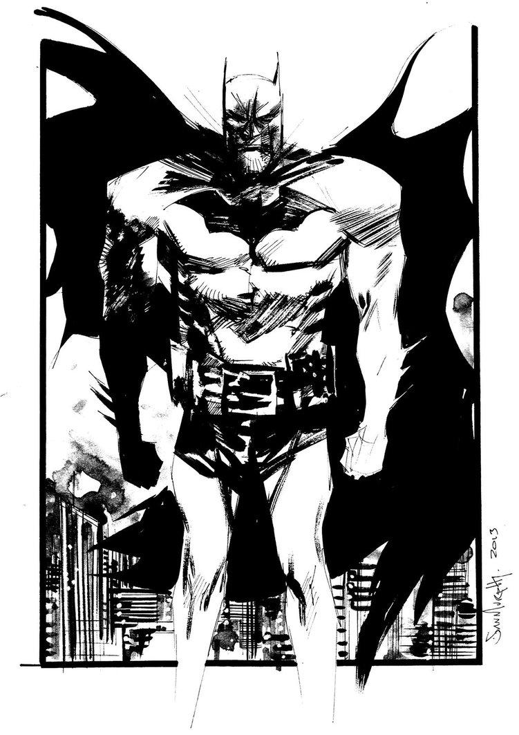 751x1063 Batman Commission By Seangordonmurphy