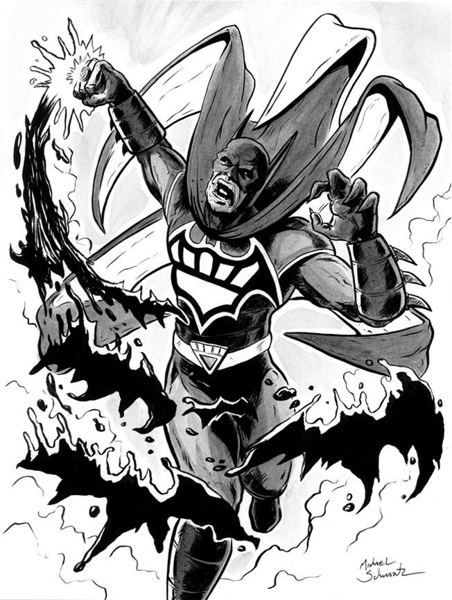 652x864 Black Lantern Batman By Mikejschwartz