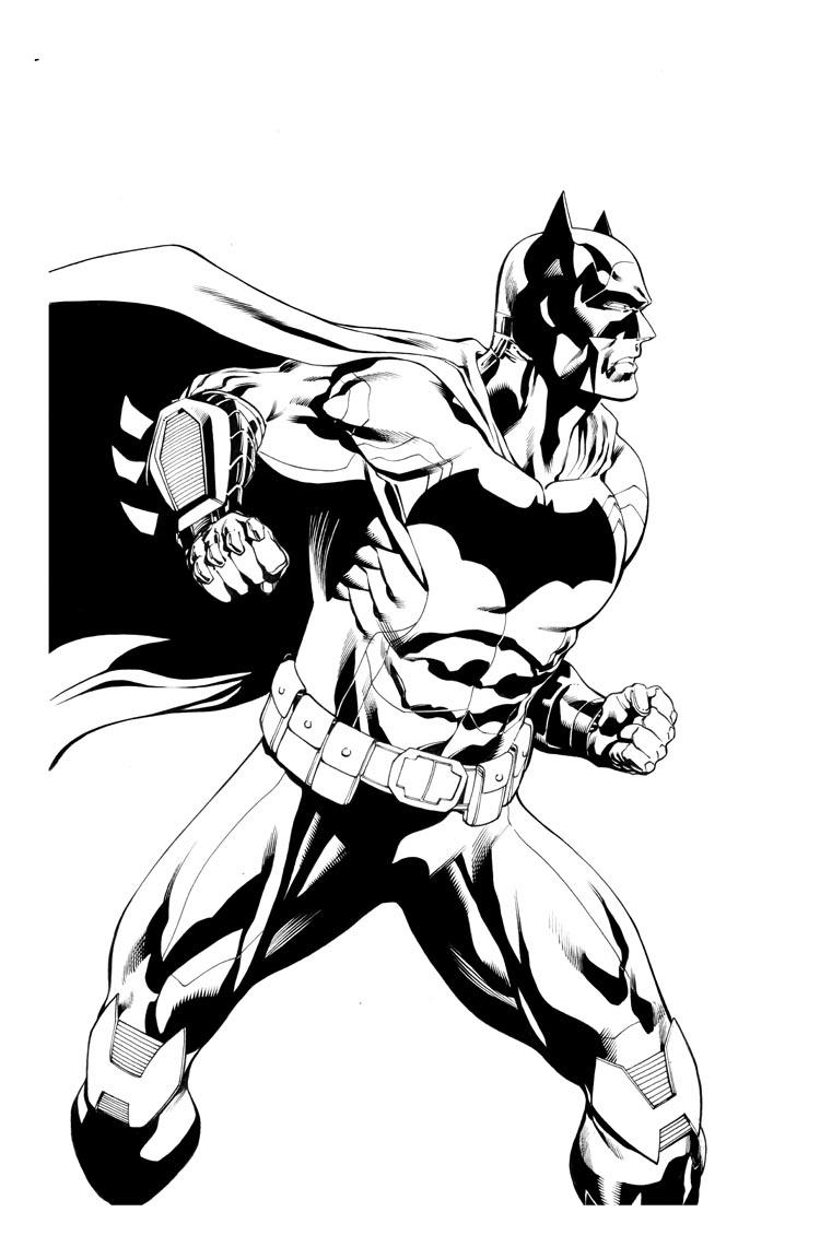 750x1141 Daily Sketch More Batman! Robert Atkins Art
