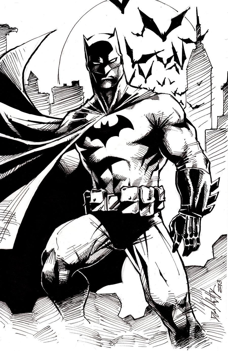 900x1384 batman sketch by dm on deviantart drawings