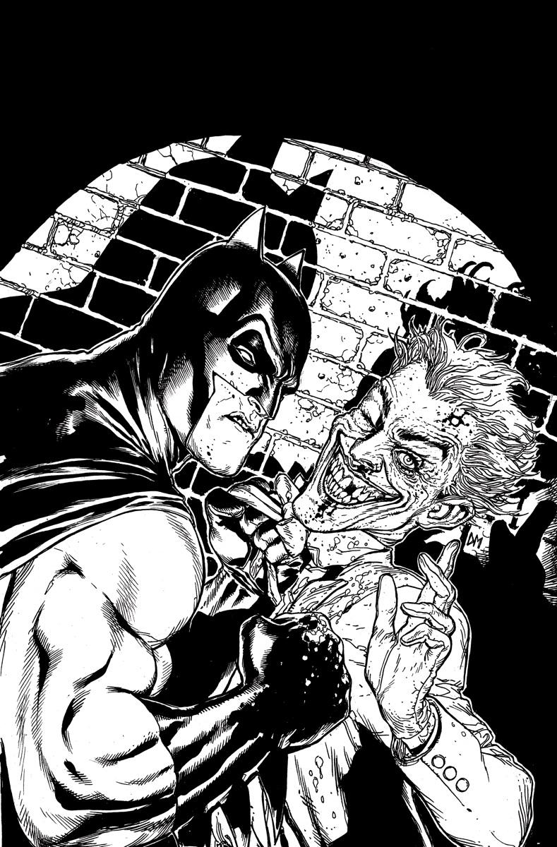 789x1200 Batman Black And White