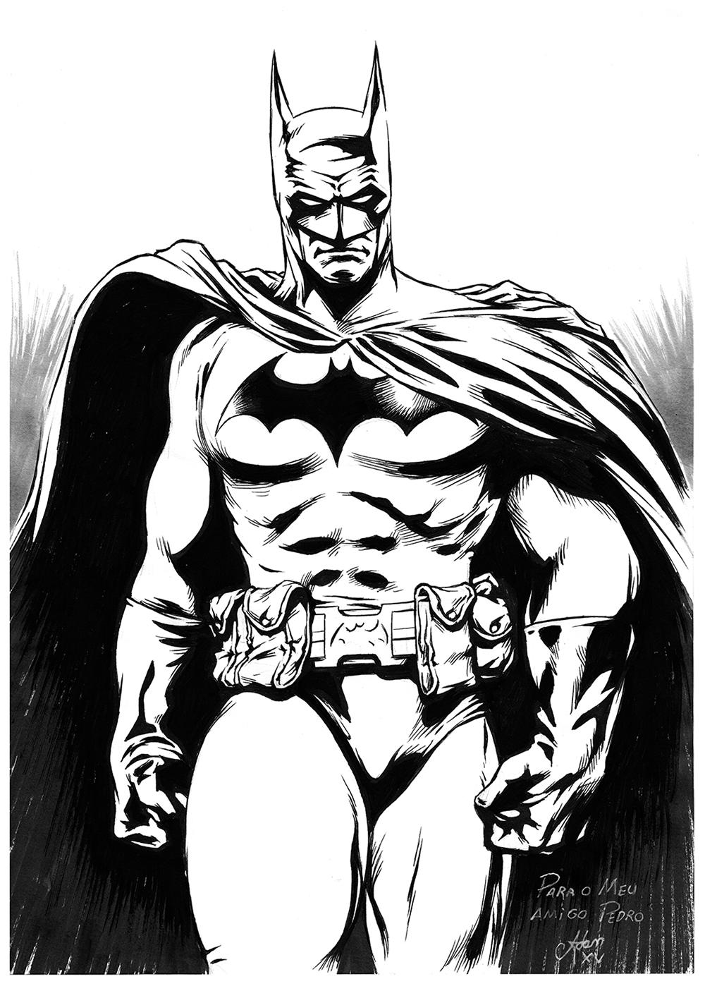 1000x1398 Batman, By Me.