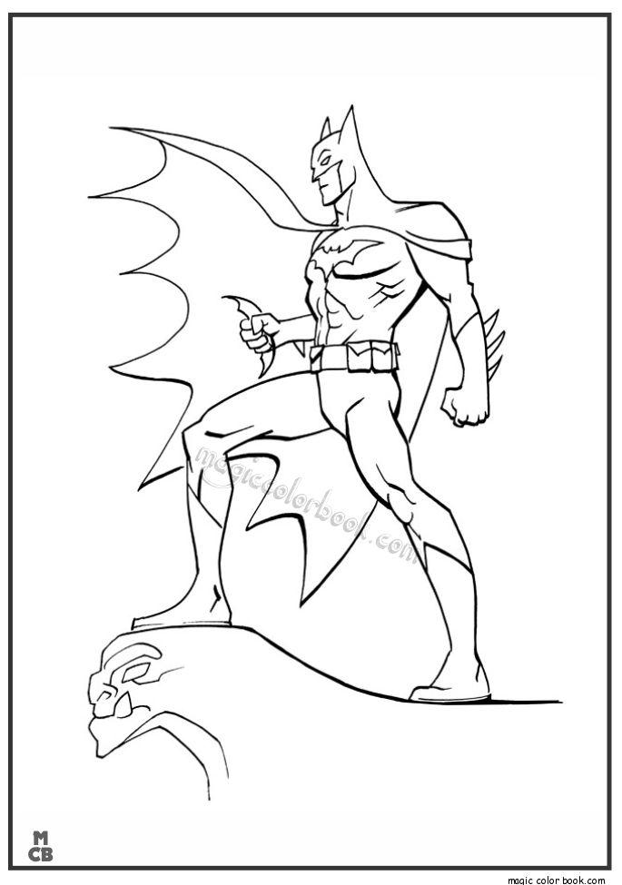 batman begins coloring pages - photo#23