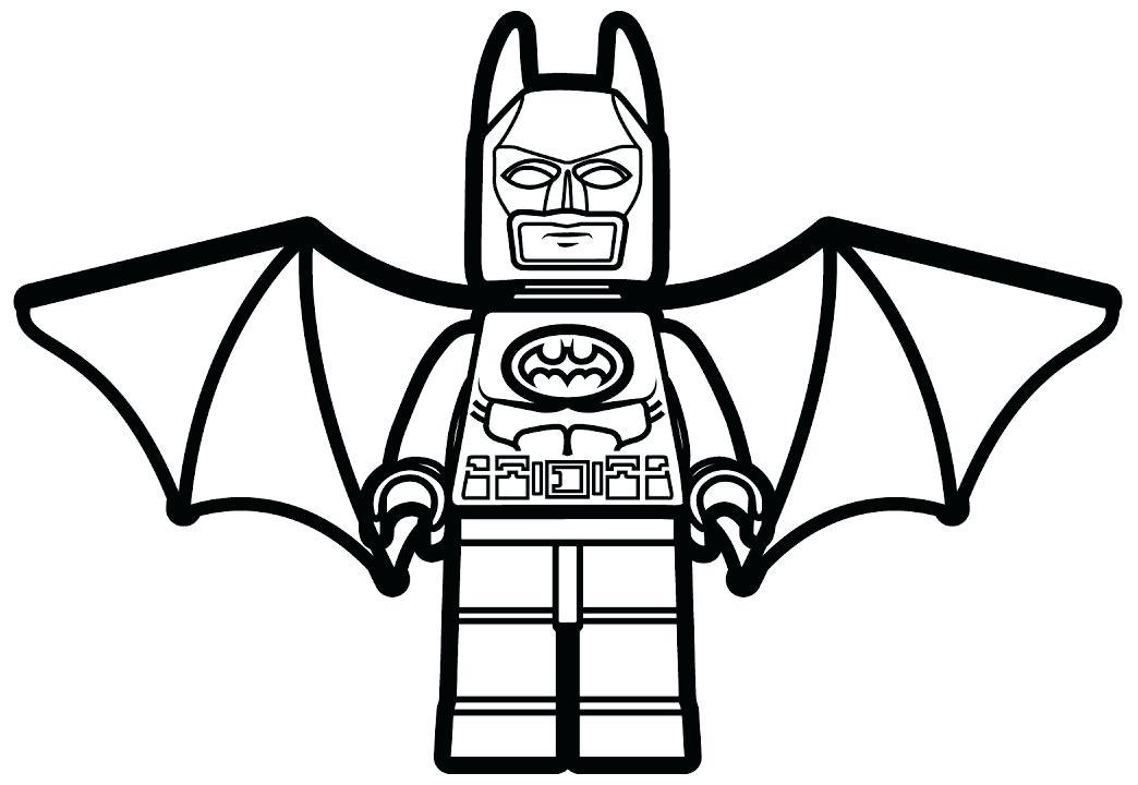 1044x720 Lego Batman Coloring Pages Car