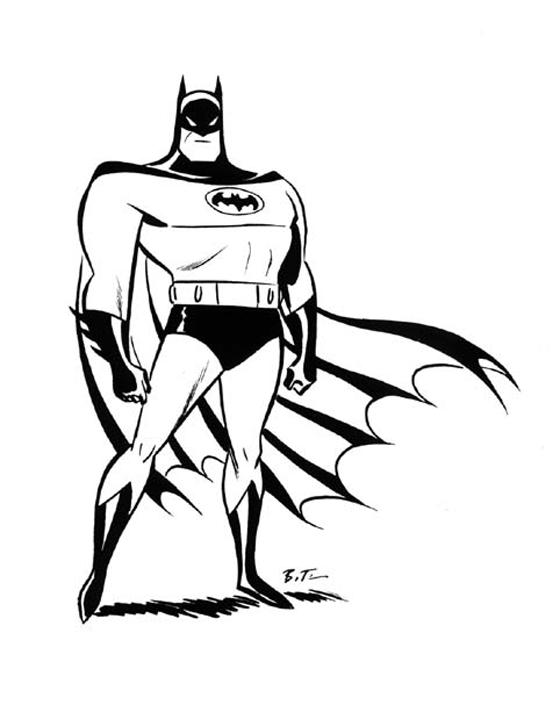 560x705 Living Lines Library Batman (Tv Series