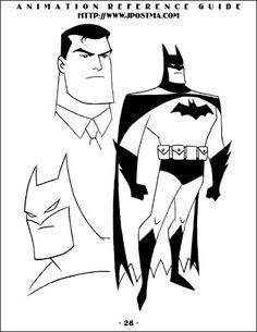 236x305 New Batman Adventures. Bruce Timm Amp Glen Murakami Pose Reference
