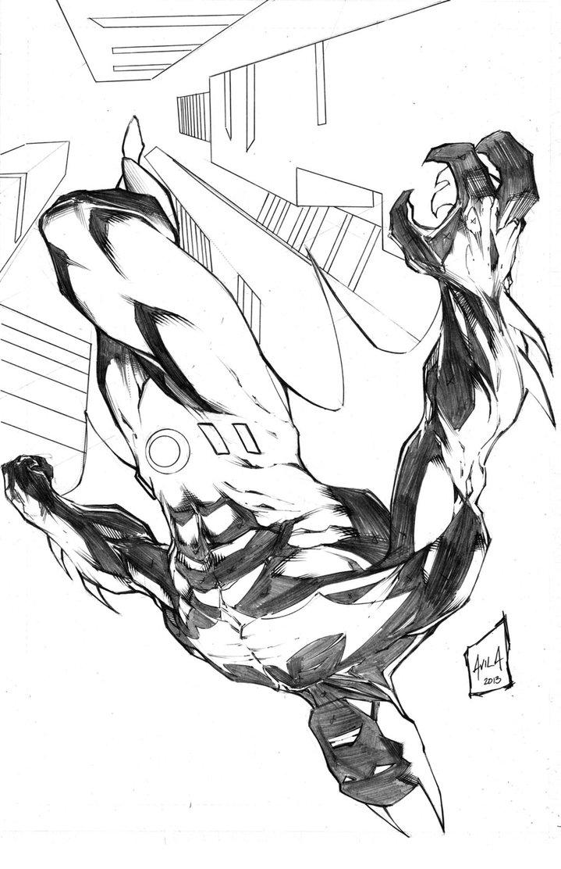 719x1112 Batman Beyond By Hanzozuken