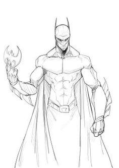 236x333 Batman Drawings batman line art by osmar shotgun fan art