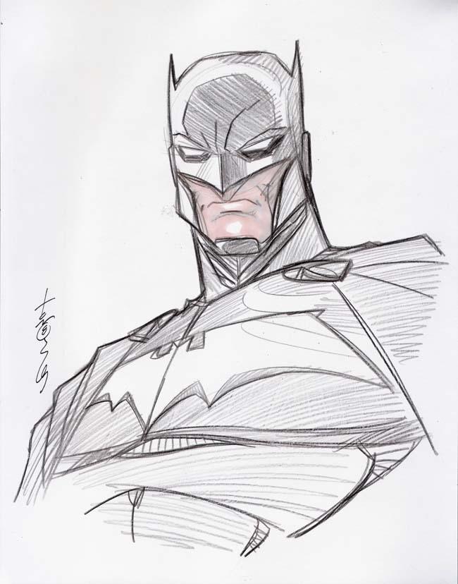 650x828 Batman head sketch by Hodges Art on DeviantArt