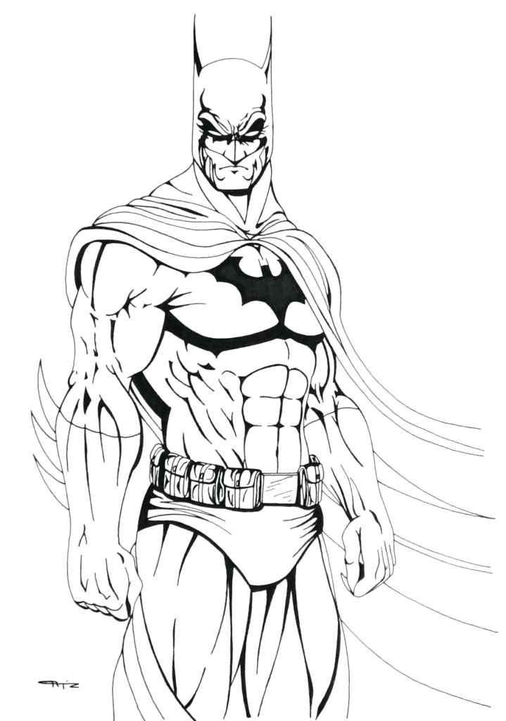 719x1024 Cartoon Joker Coloring Pages Batman And Inspirational For Your