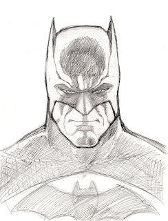 244x320 sketch + lunch = skuntch Batman Sketches