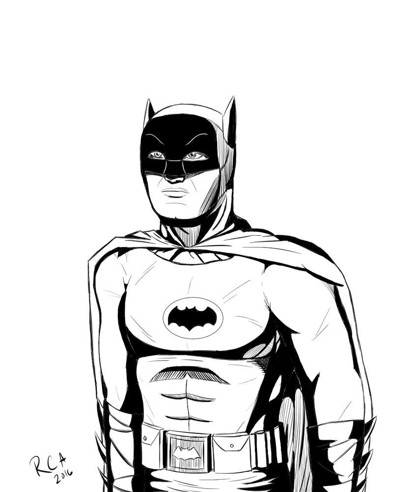 800x1000 Batman 1966 drawing by robertamaya on DeviantArt