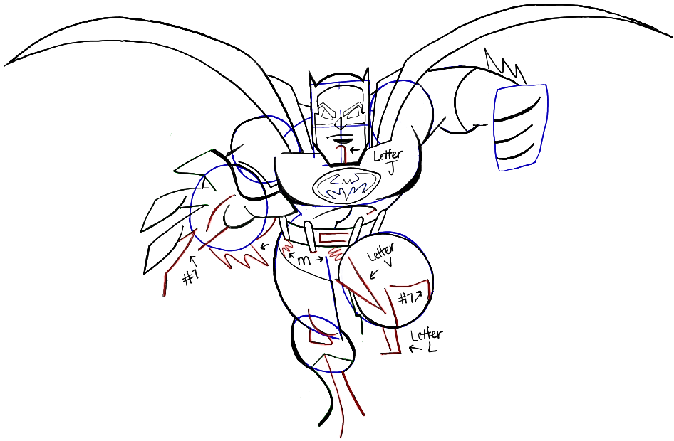 946x620 How To Draw Batman From Dc Comics With Easy Step By Step Drawing