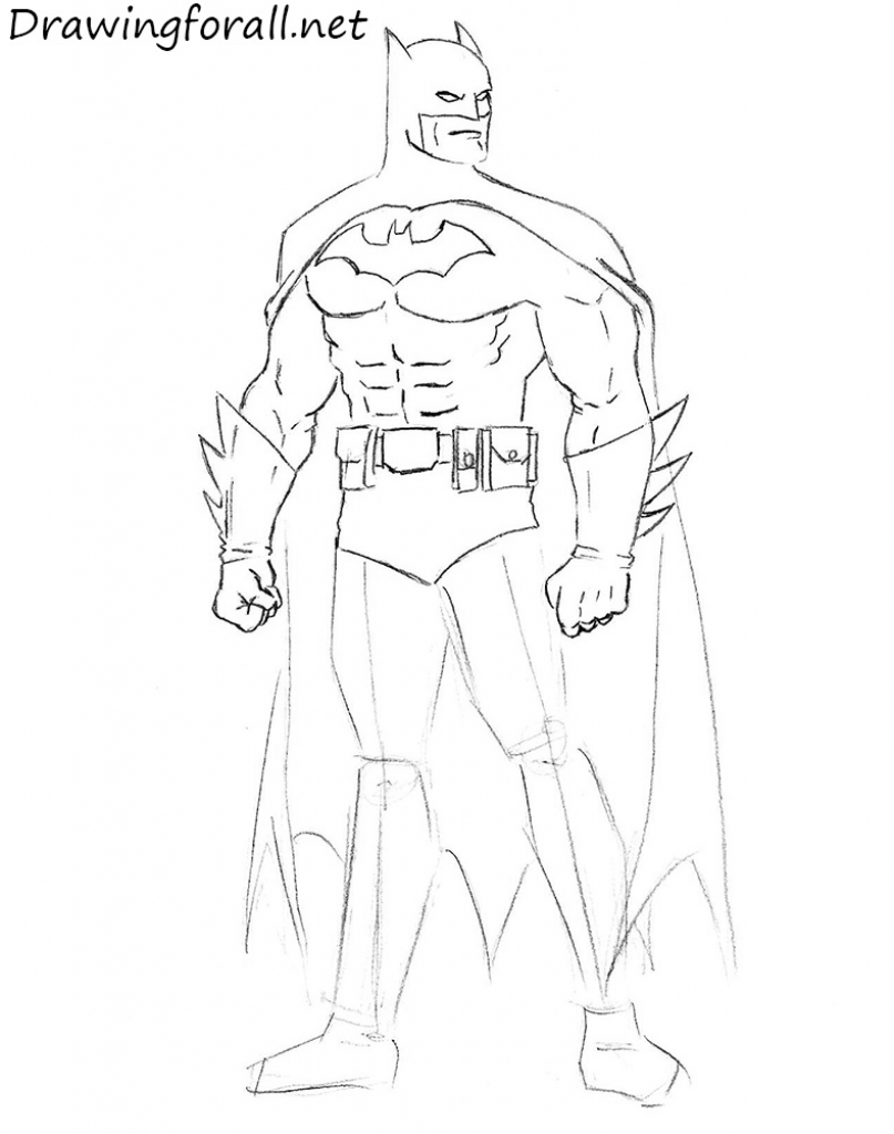 807x1024 Batman Drawing Easy How To Blocked Toilet Drain Cleaner Diagram