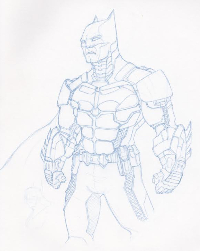 Batman Drawing Games At GetDrawings