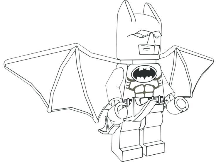 736x552 Coloring Batman Pages To Print Free Nob Design