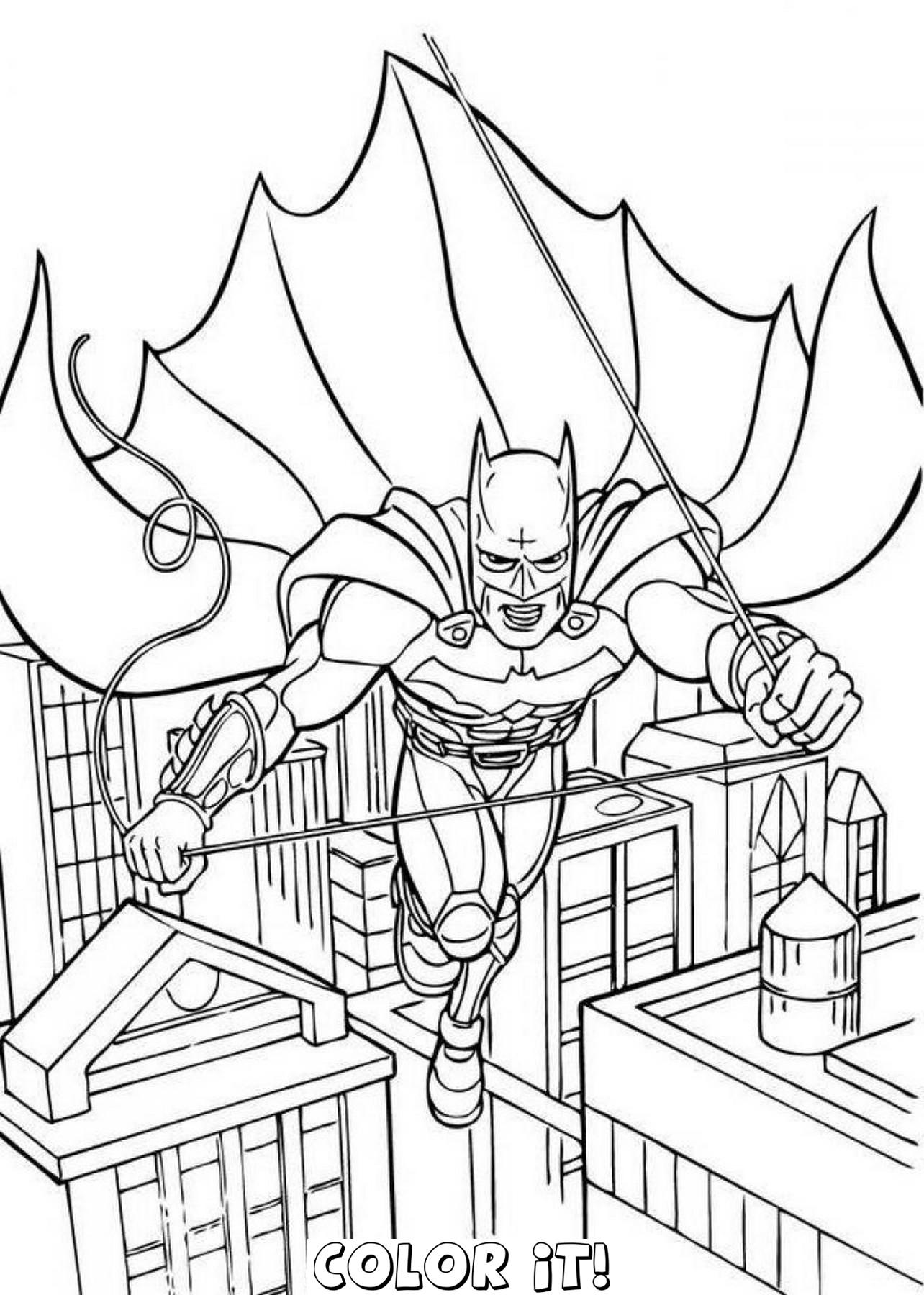 1284x1800 Coloring Pages Batman Online Di9dg94i7