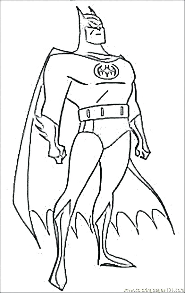 650x1026 Free Online Coloring Games Batman Pages 3 Page