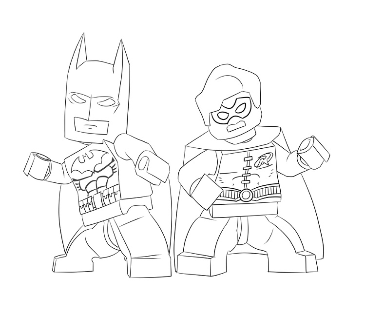 749x650 Lego Batman Coloring Pages Games Superhero Pinterest