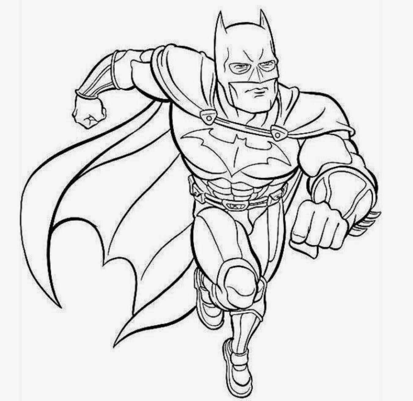 Tolle Gerechtigkeit Liga Batman Malvorlagen Ideen - Beispiel ...
