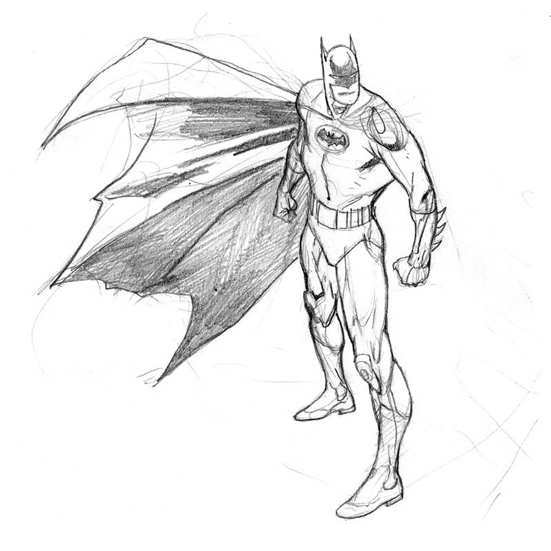 800x800 Kevin Nowlan Batman Card Art
