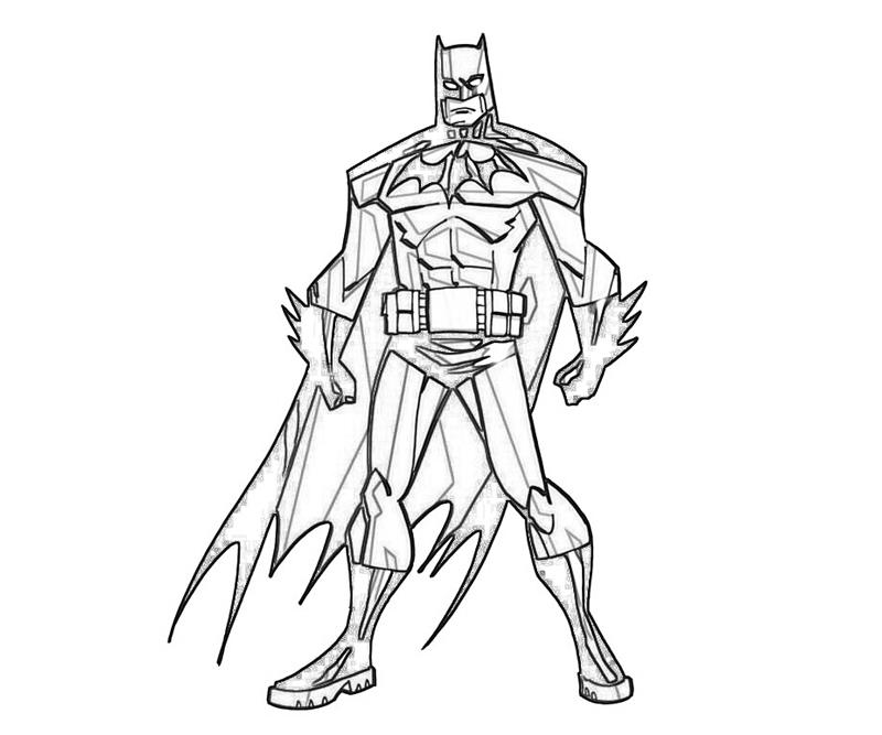 800x667 batman drawing coloring pages