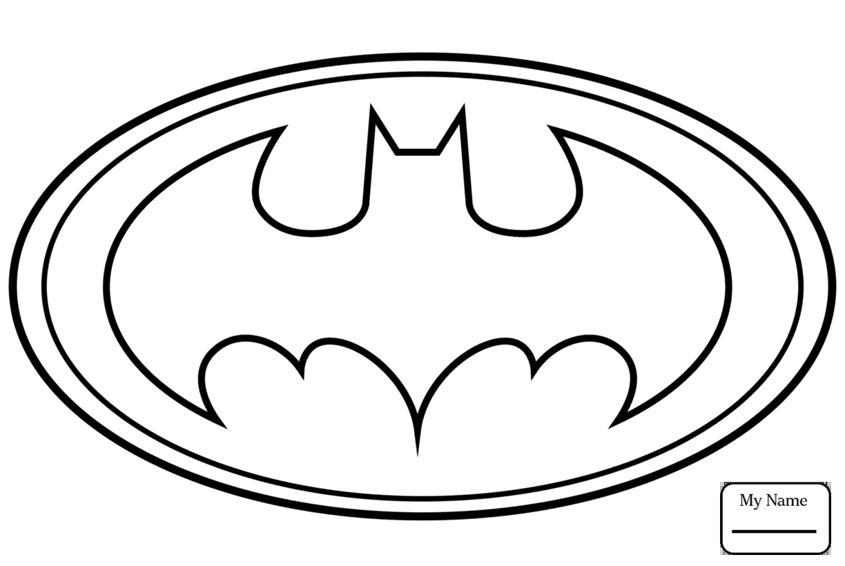 1224x820 Batman Cartoons Batman Logo Coloring Pages For Kids