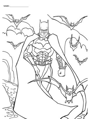 Batman Drawing Pages