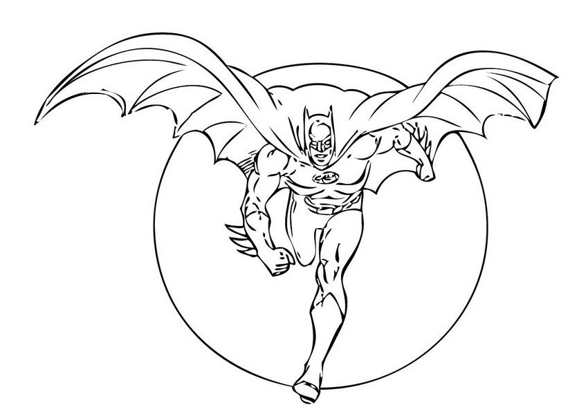 Best Batman Coloring Pages To Print Contemporary - New Coloring ...
