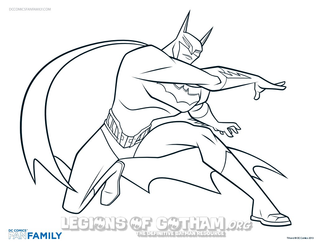 1035x800 Batman News From Legions Of Gotham Beware The Coloring Pages