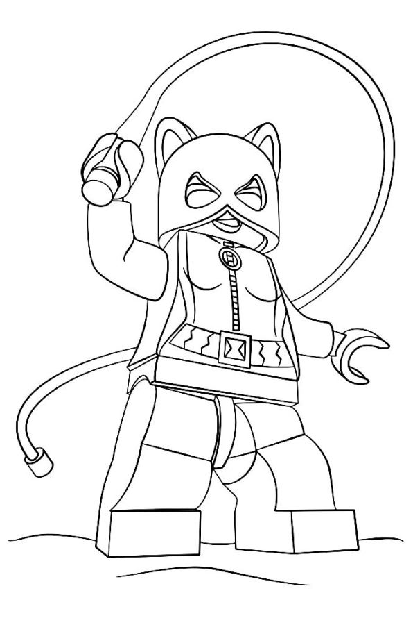 596x890 Amusing Lego Batman Coloring Pages 44 For Your Line Drawings With