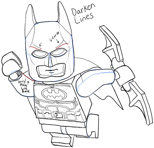 Batman Easy Drawing_ at GetDrawings.com | Free for personal use ...