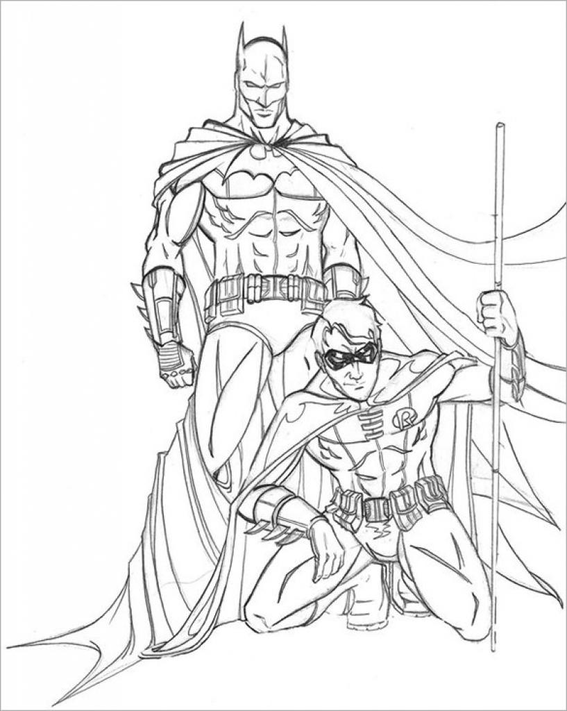 Batman Head Drawing