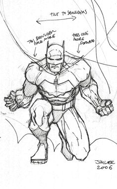 236x381 How To Draw Batman By Jim Lee X Jim Lee, Batman