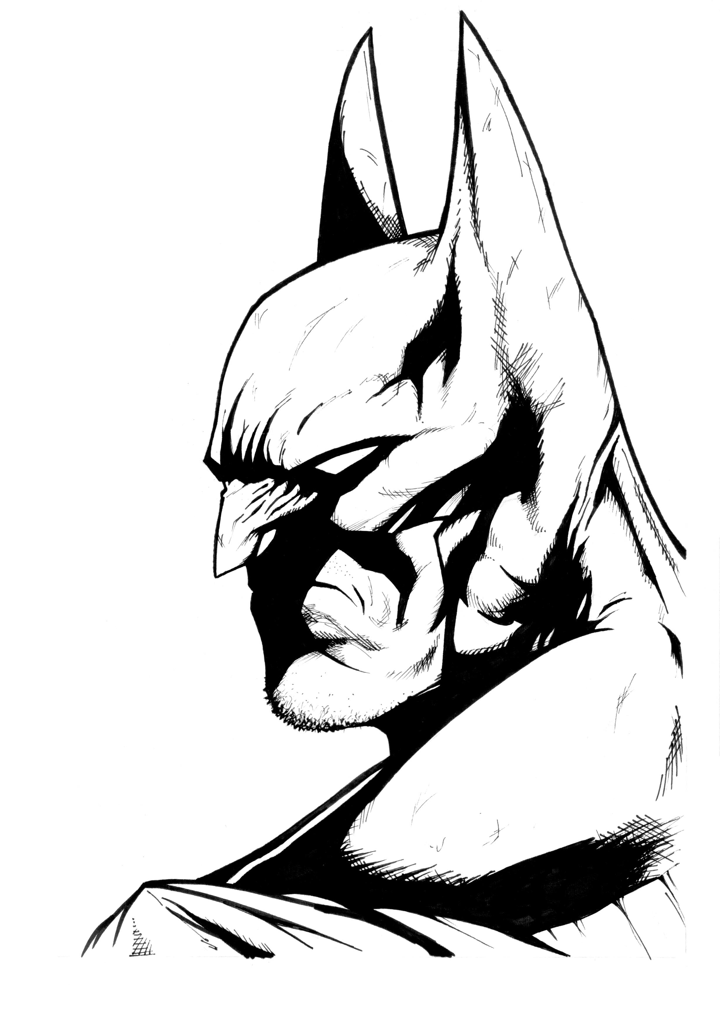 2463x3478 Batman Cover Recreation!! By Costin55 On Newgrounds