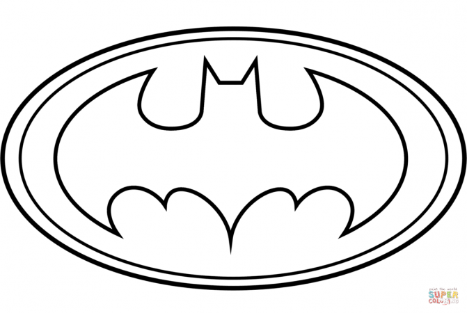 batman logo drawing at getdrawings com free for personal use