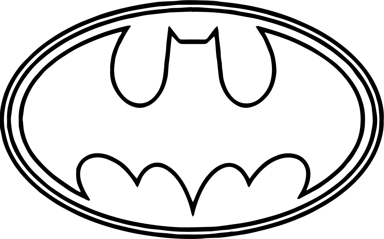 1579x984 Batman Logo Outline