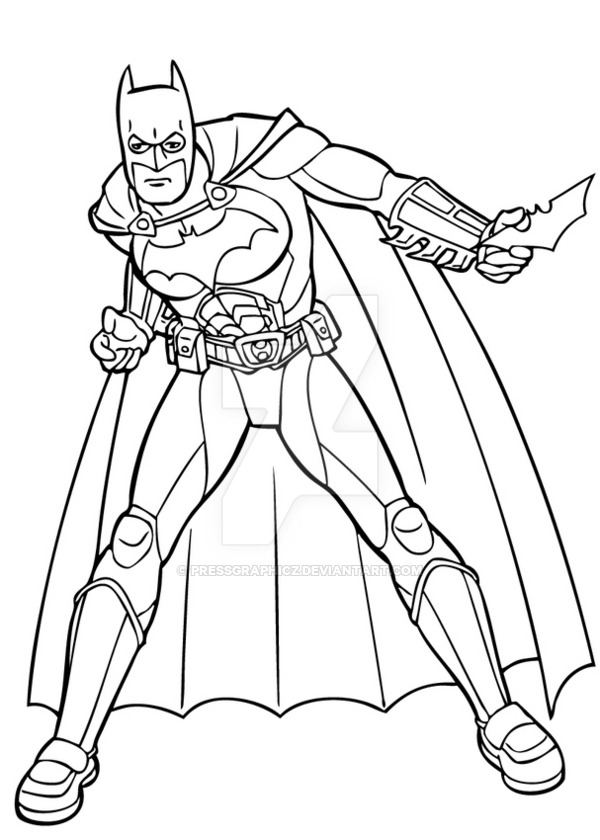 600x840 Surprising Ideas Batman Outline Symbol Printable Free Coloring