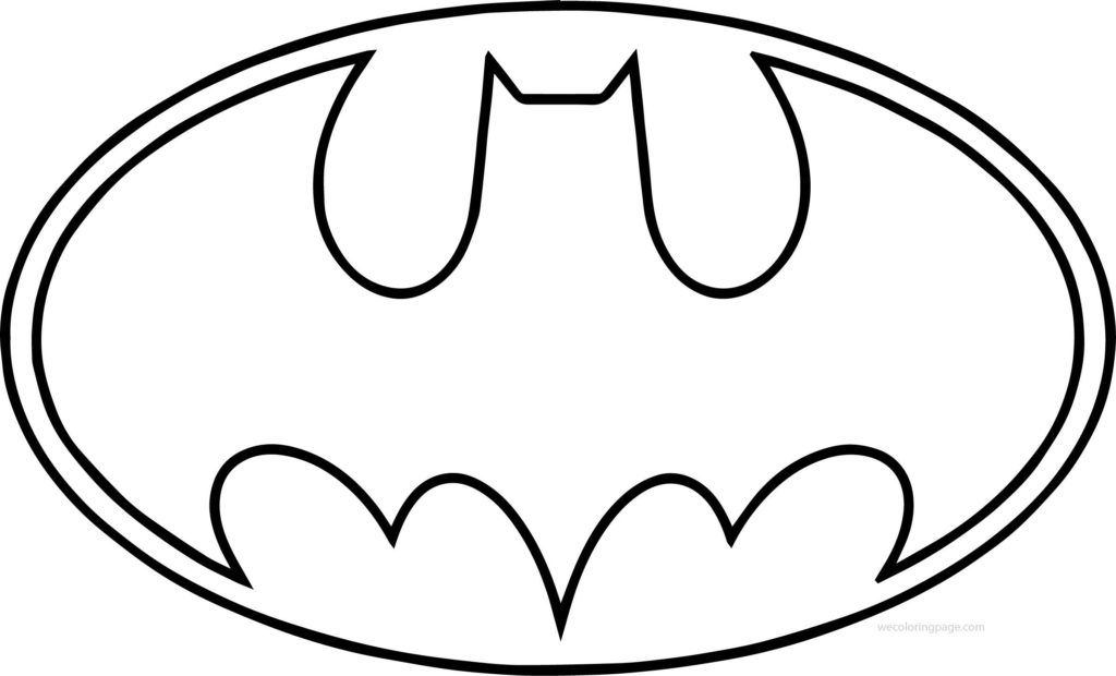 1024x620 Batman Symbol Outline