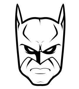 269x302 How To Draw Batman Easy Step 6 Things To Draw
