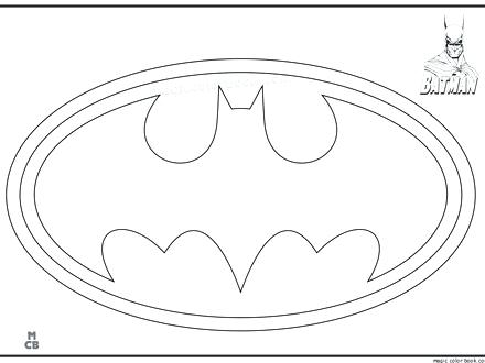 440x330 Batman Logo Coloring Pages Best Boys Color Images On Coloring
