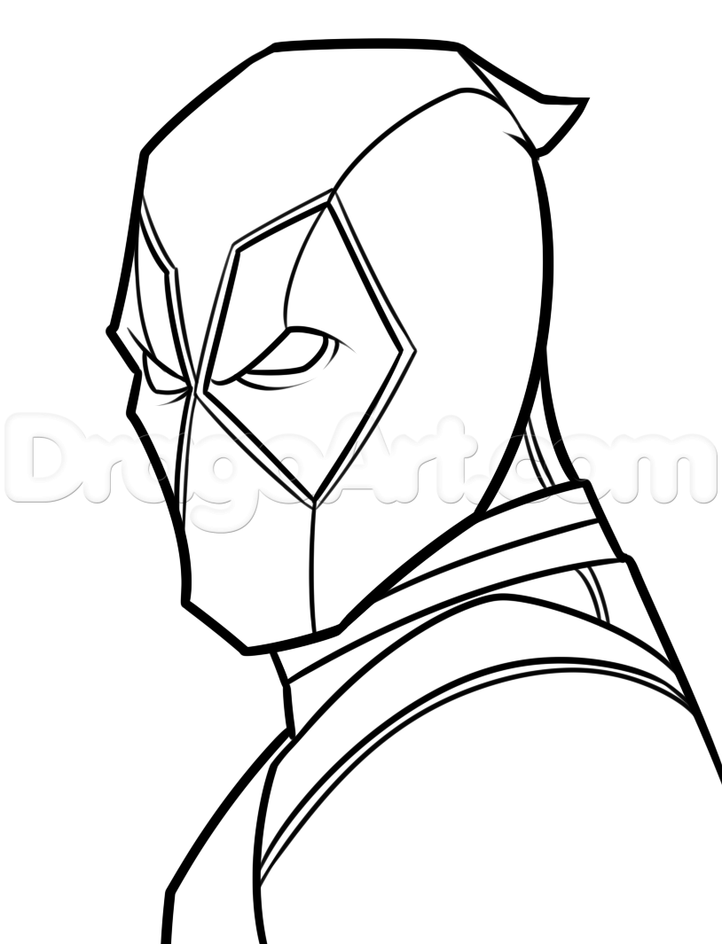 Batman Symbol Drawing Step By Step at GetDrawings.com | Free for ...