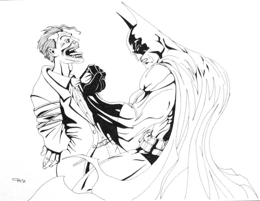 900x695 Batman Vs Joker 2 By Eso2001