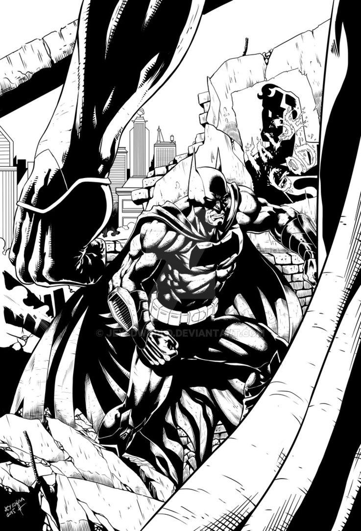 737x1083 Batman Vs. Superman By Jey2dworld