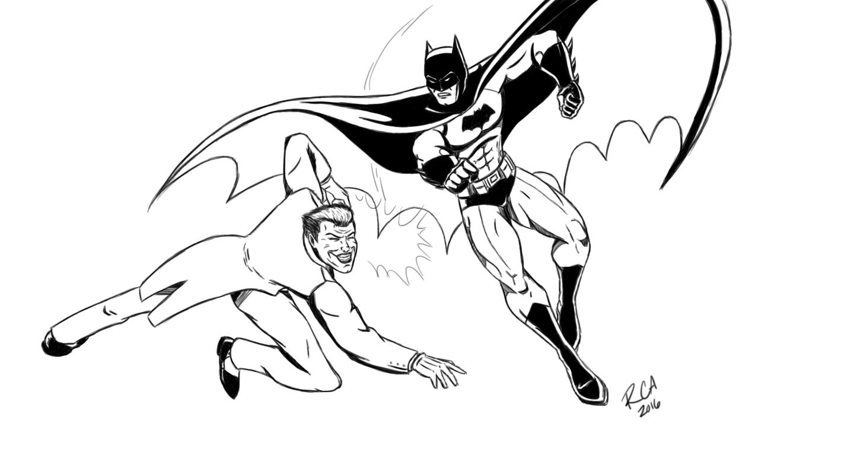 1440x789 Batman Vs. Joker By Robertamaya
