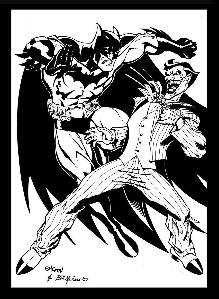 900x1225 Batman Vs Joker 2.0 By Billmeiggs