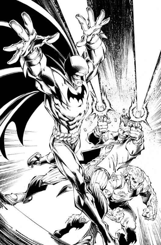 527x800 Batman Vs Joker And Killer Croc By Bagley And Rapmund, In Jens