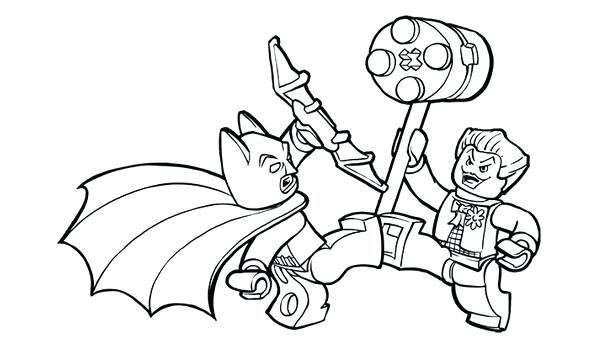 604x340 Ideal Batman And Joker Coloring Pages Print Coloring